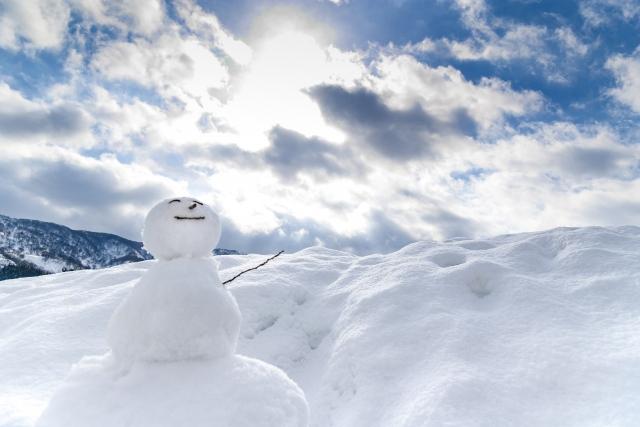 雪の降る日に考えること