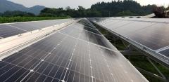 米沢市万世町高圧太陽光発電所